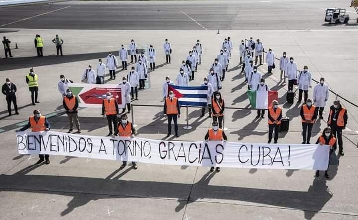 SOSTENIAMO IL NOBEL PER LA PACE ALLE BRIGATE MEDICHE CUBANE