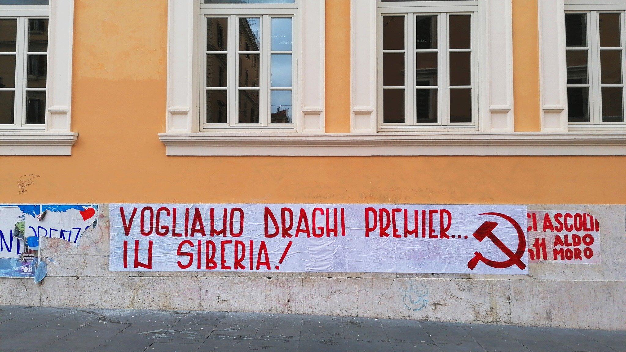 GOVERNO DRAGHI. SEI MESI DI CLASSISMO IN NOME DELL'UNITÀ NAZIONALE